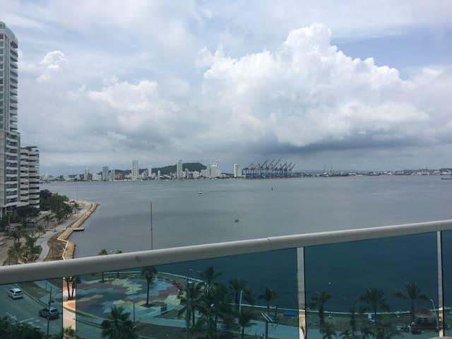 Duplex frente a bahia de Cartagena - Cartagena - Apartamento