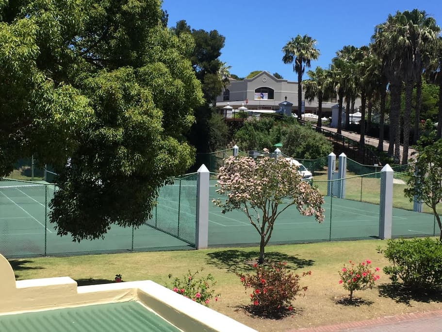 Enjoy the use of the complexes tennis courts during your stay