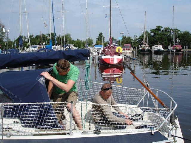 romantische kleine zeiljacht - Uitgeest - Boot