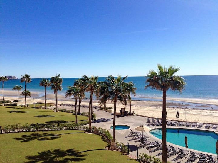 Paradise on Sandy Beach at the Sonoran Sea Resort#