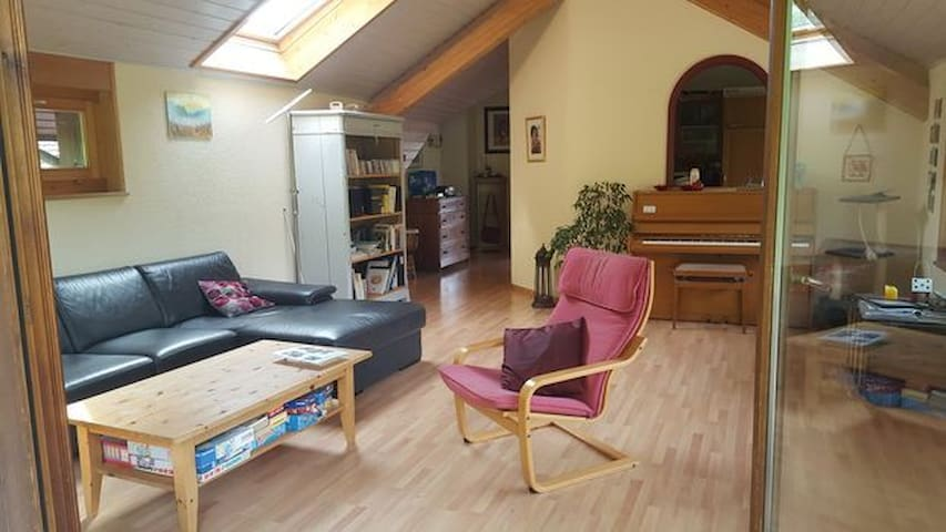 Bel appartement avec terrasse, 15 mn de Lausanne