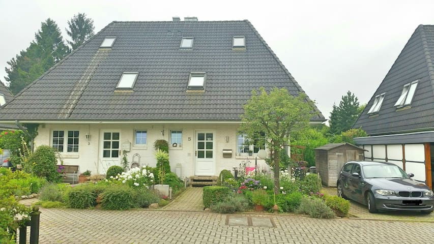 Großes Dachzimmer Hamburg/Reinbek - Reinbek - Rumah