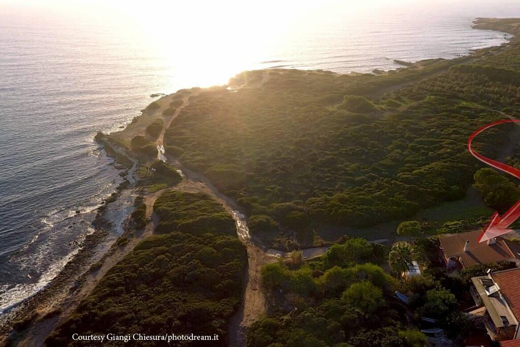 Drone view Courtesy Photodream.it/Giangi Chiesura