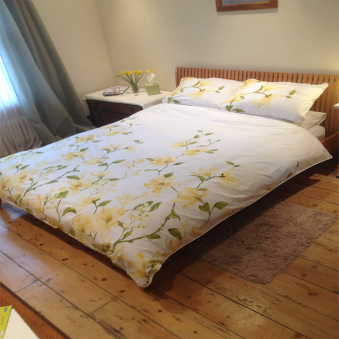 Double Bedroom with new Duvet, pillows & bedding