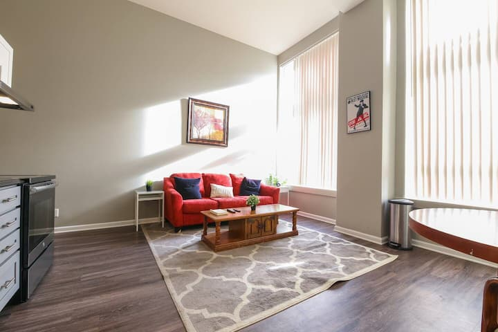 Downtown Denver Loft Style 2BR Apartment