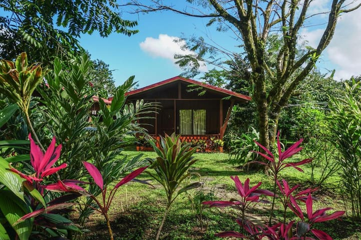 Nature Lodge, breakfast incld, 'standard room' HFA