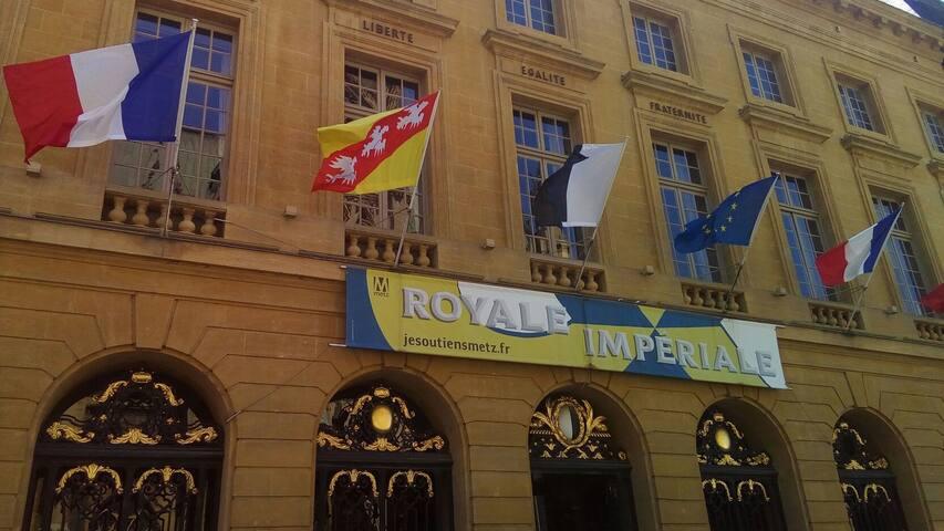 l'Hotel de Ville de Metz