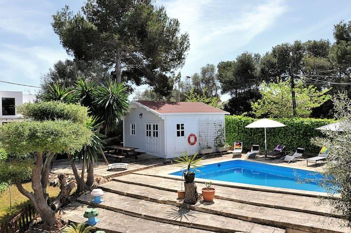 Cala Blava , Poolhouse , 32qm - Llucmajor - Cabaña