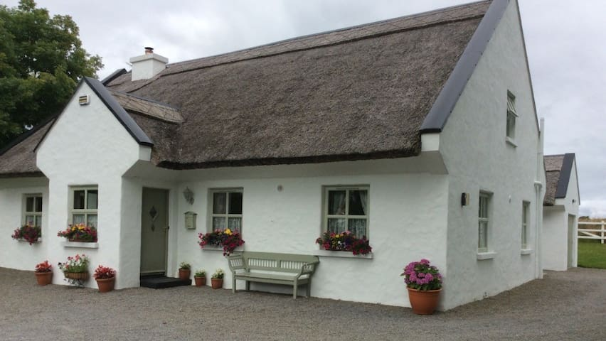 Traditional Irish Thatch Cottage near Cong.
