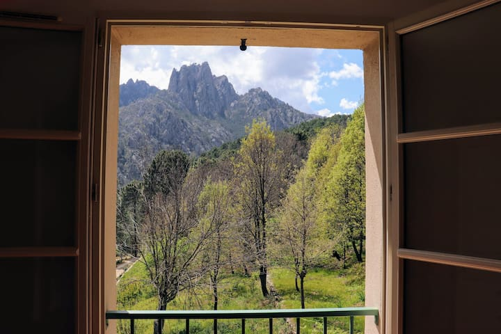 Maison montagne Ghisoni Hte-Corse / calme & nature