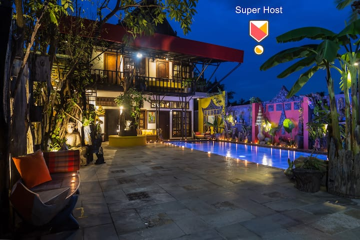 Art House+PrivatPool, The Unique in Siem Reap City