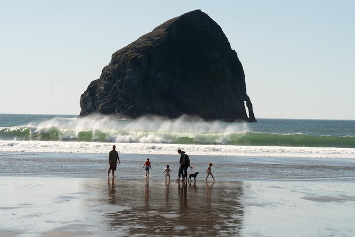 Experience this 3 Bedroom Oceanfront Home on the Sand in Pacific City, Oregon