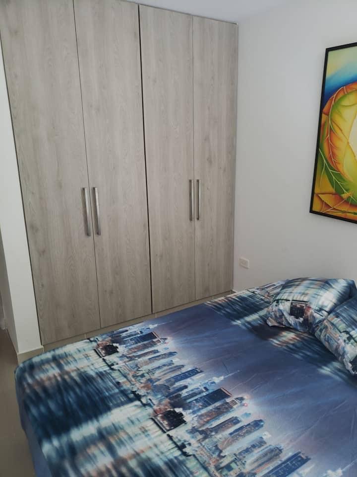 Habitacion privada comoda, tranquila y fresca