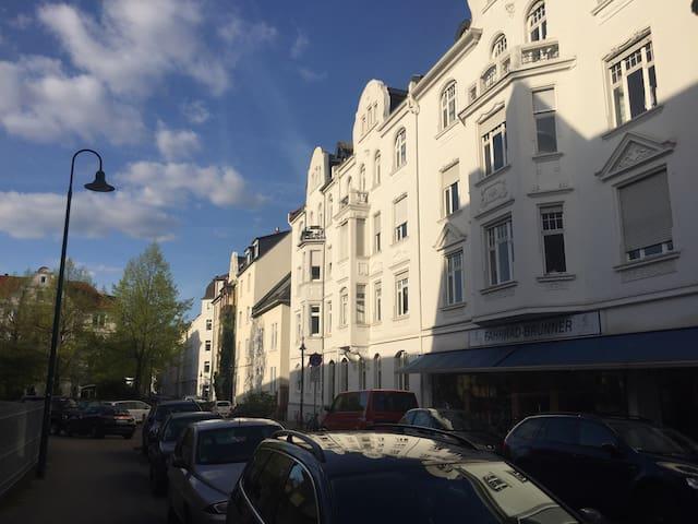 Schickes City Apartment im Herzen Darmstadts - Darmstadt - Hus