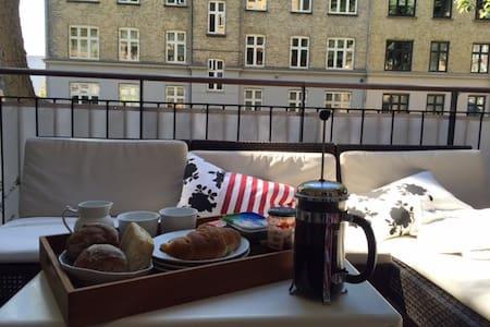 App. in beautiful part of cph. - Frederiksberg - Apartment