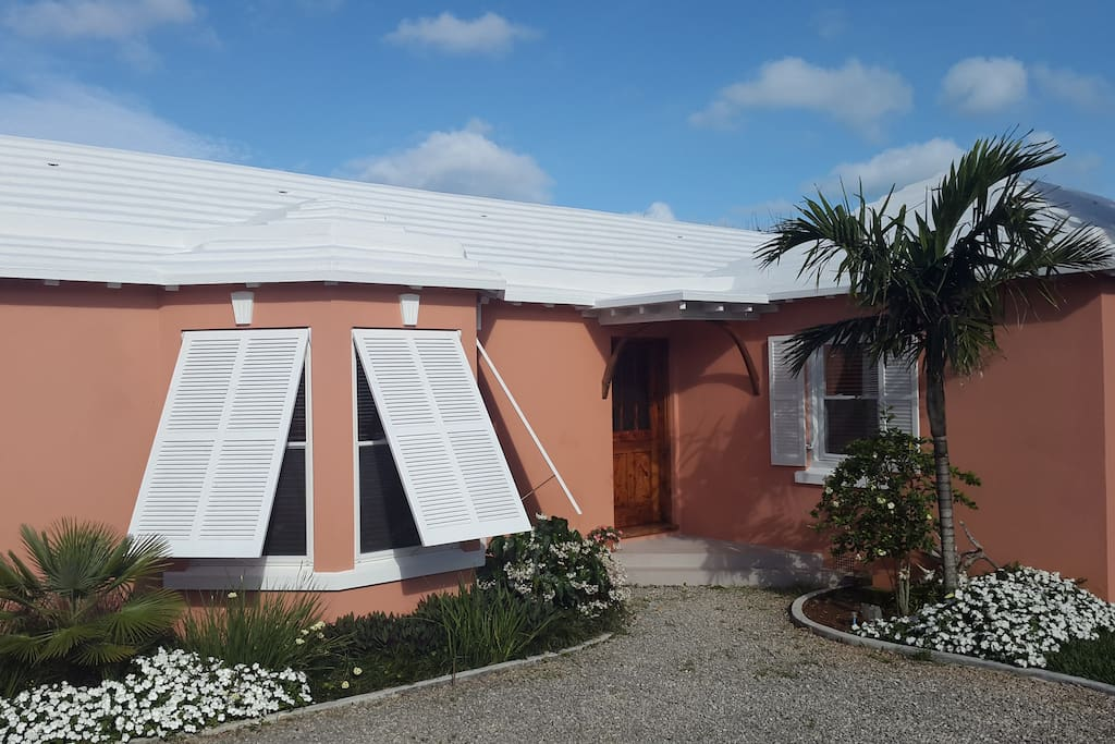 Devon Haven is a charming example of Bermuda's unique architecture.