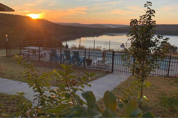 Brand New Lake View Pool Retreat