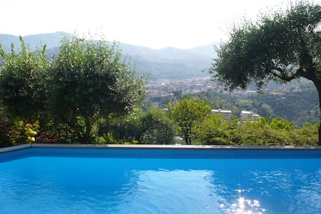 Luxurious Villa with Private Pool and Sea View - Rapallo - Willa