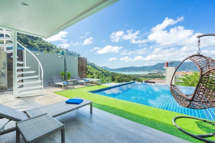 Stunning Modern Sea-View Villa