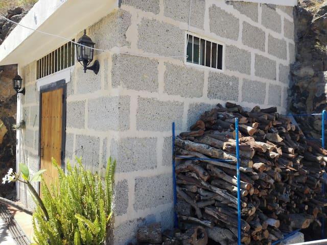 Casa cueva en finca rural