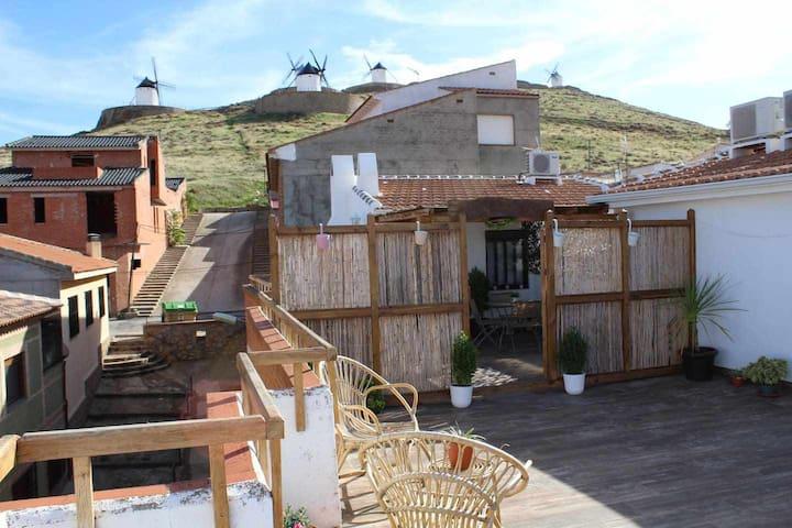 Apartamento 20 metros con terraza de 90 metros