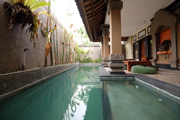 1BR The Sujana Villa Ubud~0.5km fr Ubud Center