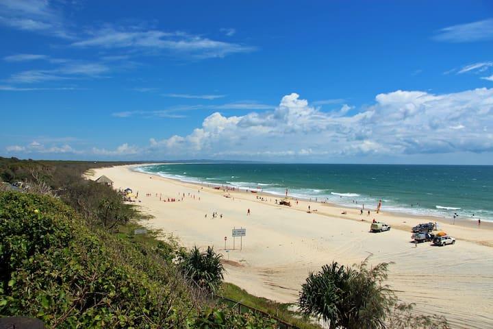 Take a beachside break!