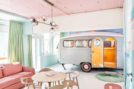 Designer Frederics Caravan Loft
