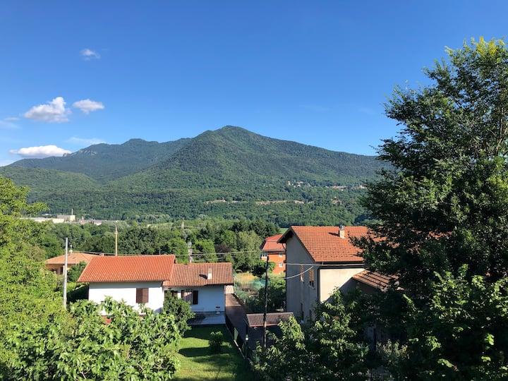 Appartamento con vista sulla Valcuvia