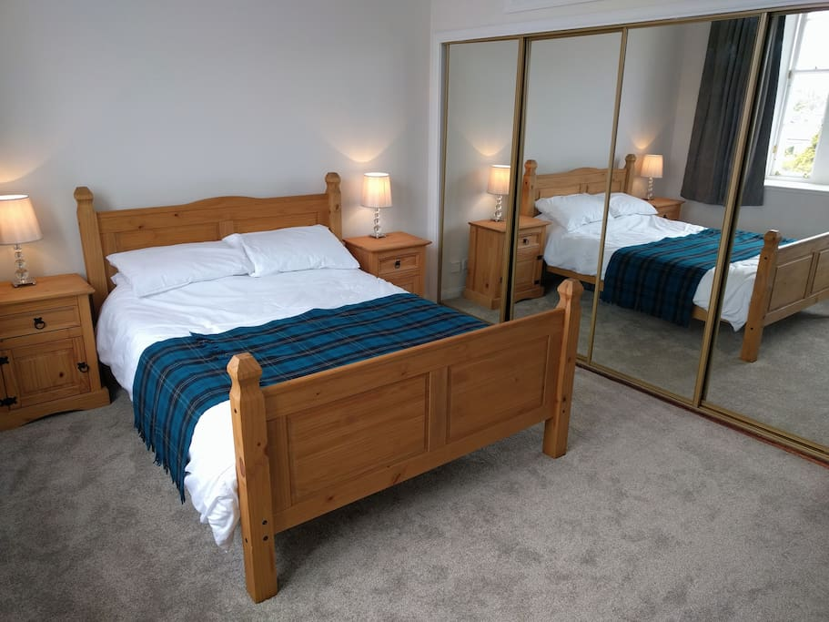 Master bedroom - spacious with plenty storage available