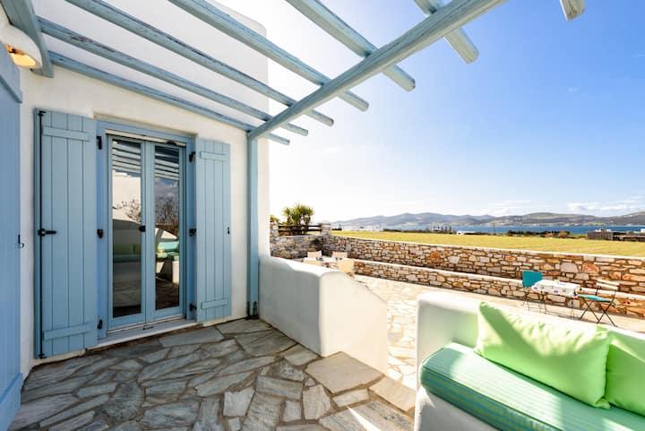 Sea View Villa At Paros
