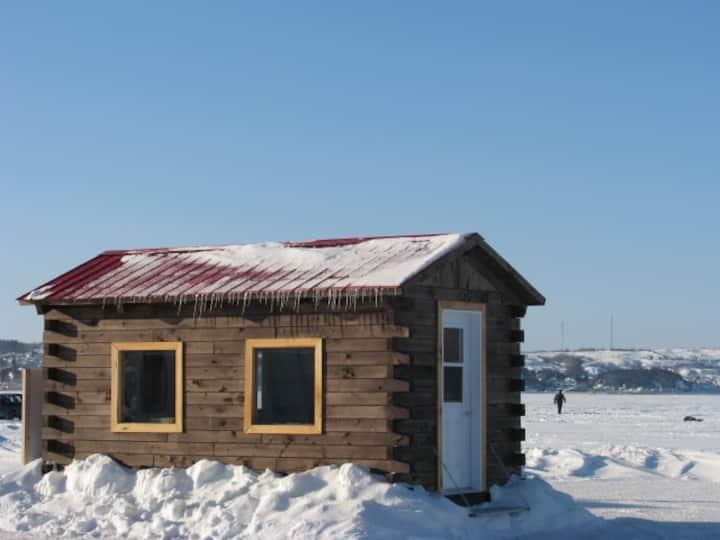 Dormir sur les glaces du Fjord