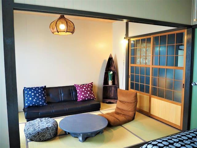 (Free parking&wi-fi) Chatan hills Tomo's apartment - 中頭郡北谷町 - Apartment