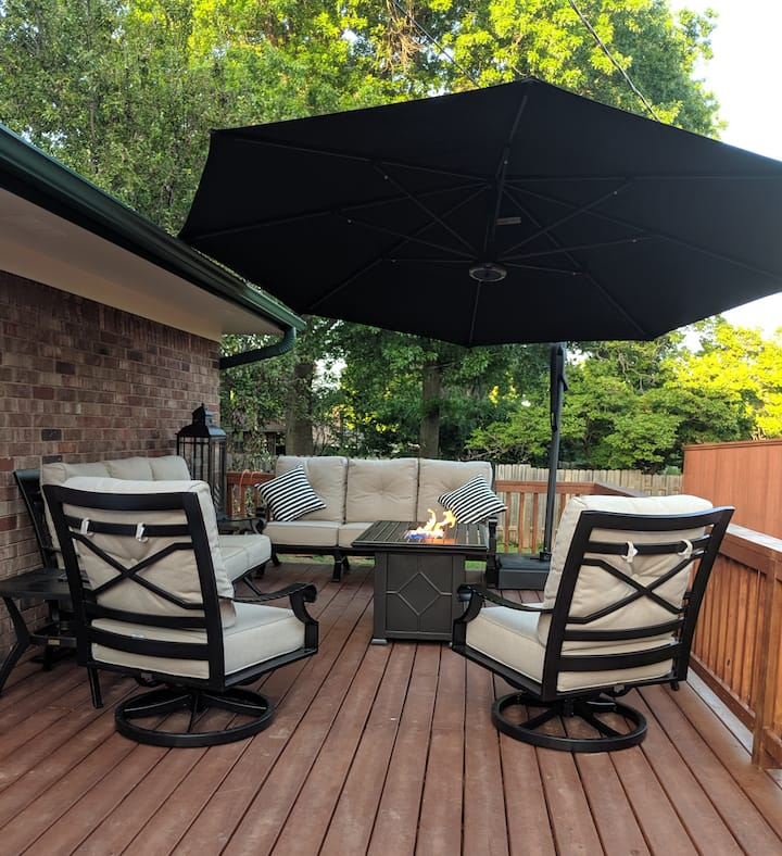 Close To All OSU Sports...Private 2 Bedroom Suite