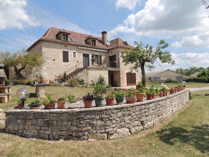 Maison  parc régional Causses du Quercy 4 pers