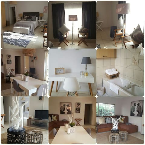 VillaDeVille - Fully Furnished Two Bedroom Villa - Germiston - Apartmen