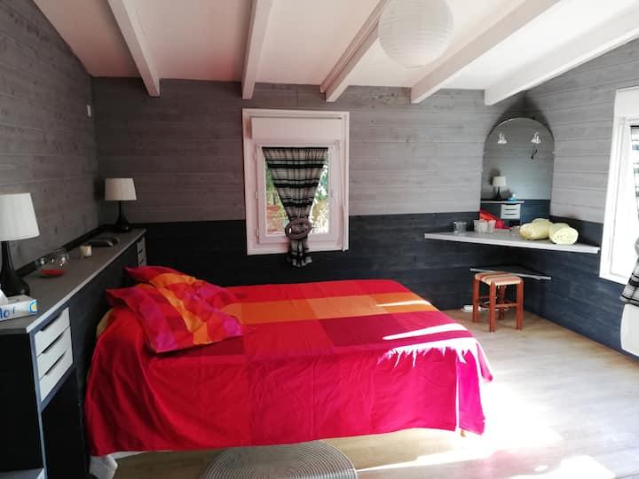 Chambre avec Pdej, maison, 25 mn d'Angoulême