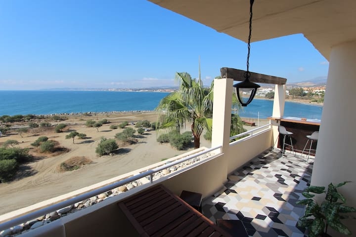 Beachside flat with panoramic views - Estepona - Appartement