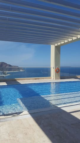 Amazing Ocean view + Infinity Pool apartment - Santa Marta (Distrito Turístico Cultural E Histórico) - Appartement