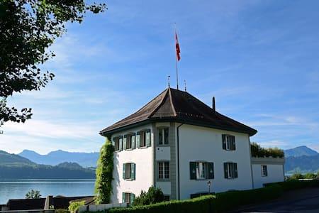 Room with kitchen at the Jagd-Schloss**** - Merlischachen