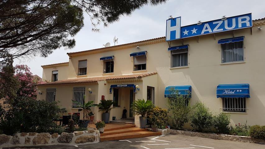 Agréable séjour à l'hôtel AZUR