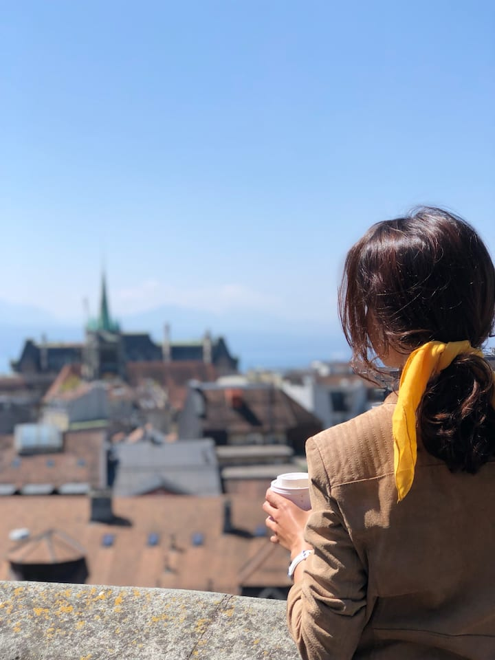 Lausanne and it's breathtaking views