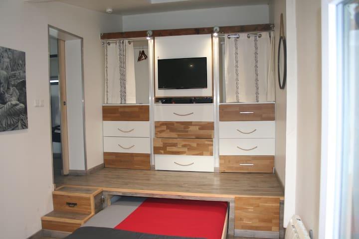 Maison T2 Classé 3 étoiles - Montbéliard - Apartemen