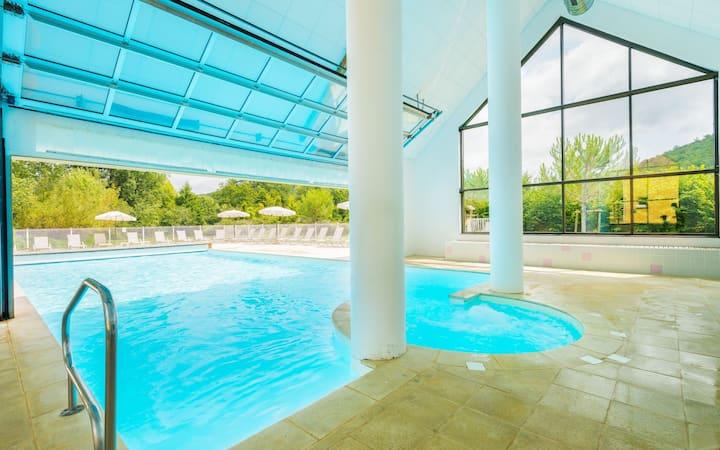 Maison de vacances pour 6 sur 2 étages | Accès salle de gym et piscine
