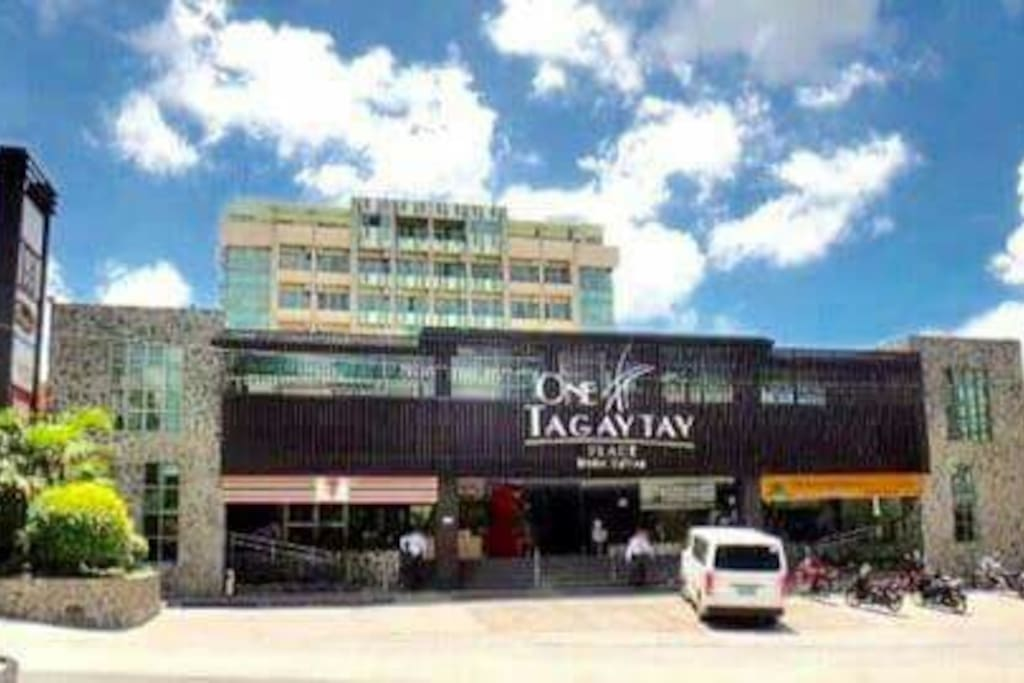 One Tagaytay Place Hotel Front View