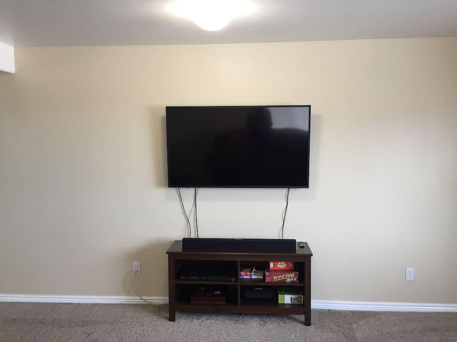 55 inch 4K Smart TV