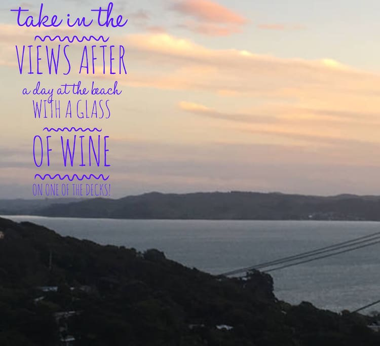 Watch the sunset after your adventures on Waiheke!