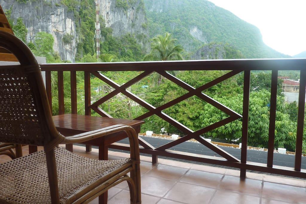 (Private) balcony view