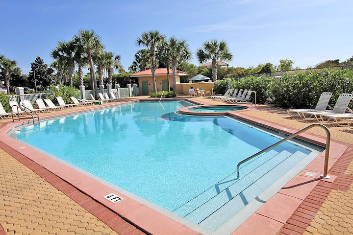Gulf Views! Beach! Pool and Updated decor ~ 300 at The Inn at Seacrest Beach 30A