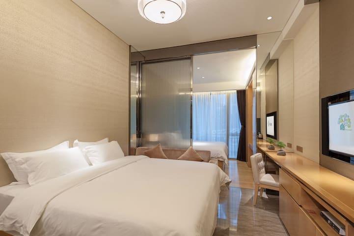 C2 double bed Room 5 stars Apartment-Tian He - Guangzhou Shi - Pis